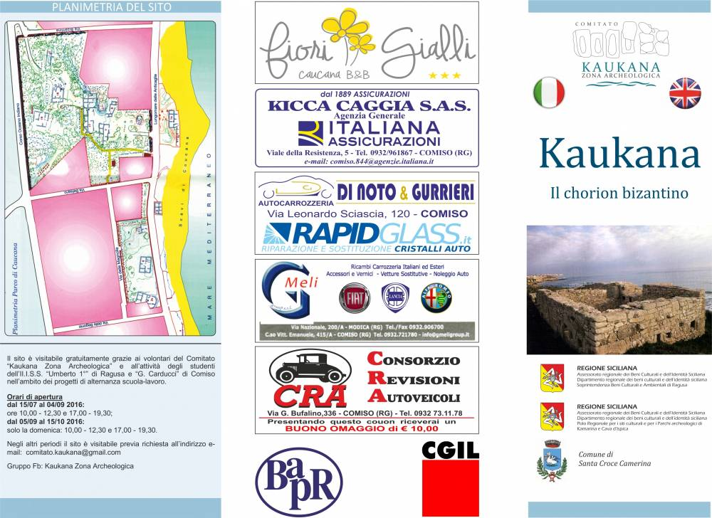 Brochure In Lingua Italiana E Inglese